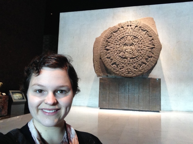 Selfie with the Sacrificial Stone