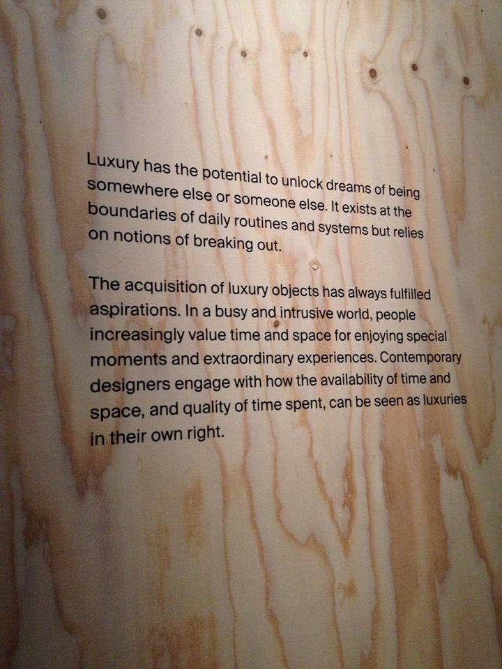 Define: Luxury. V&A.