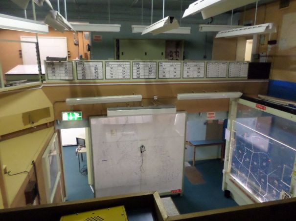 Cold War Bunker in York Control Room.