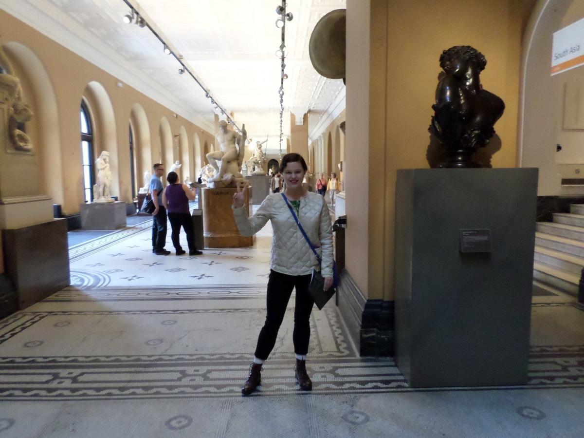 Victoria and Albert Museum & HunterianMuseum