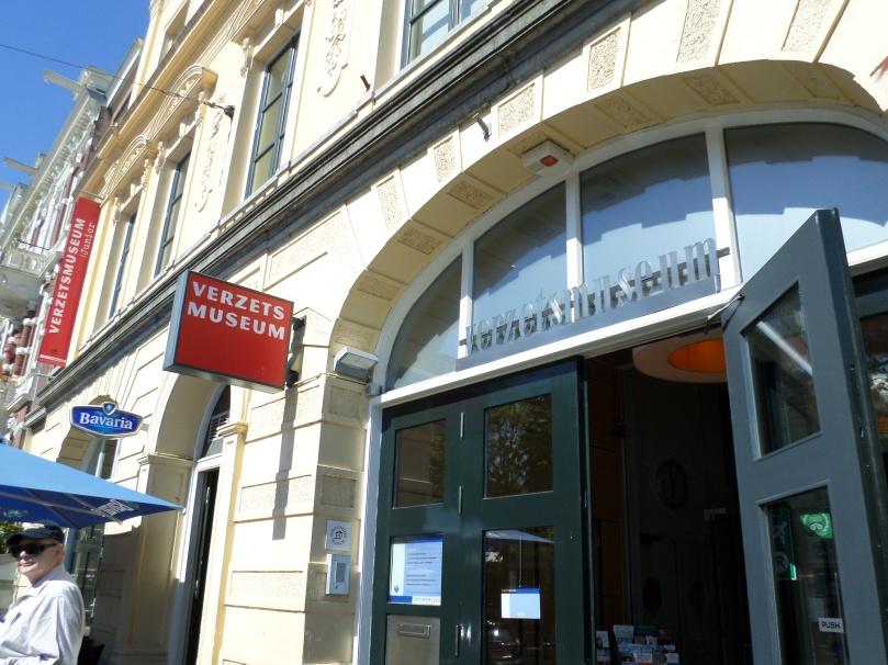 Entrance to Dutch Resistance Museum