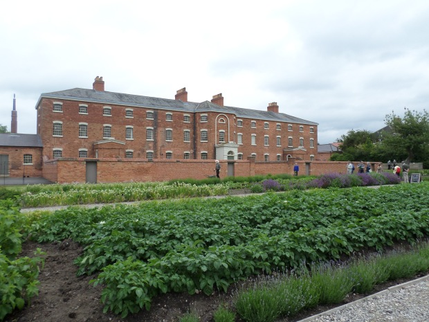 Front of the Southwell Workhouse in Nottinghamshire.