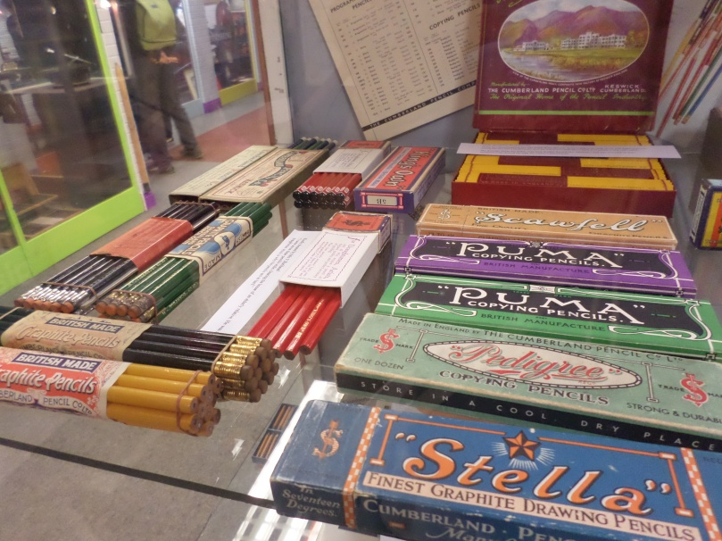 A Range of Pencil Tins from the 19th century to Today.