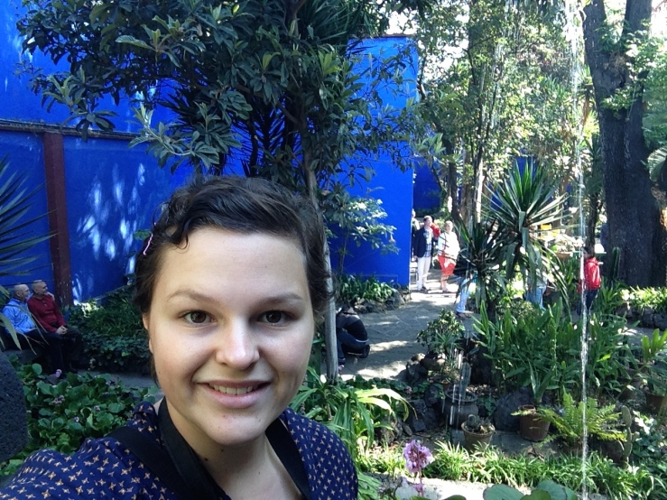 Frida's House, Mexico City.