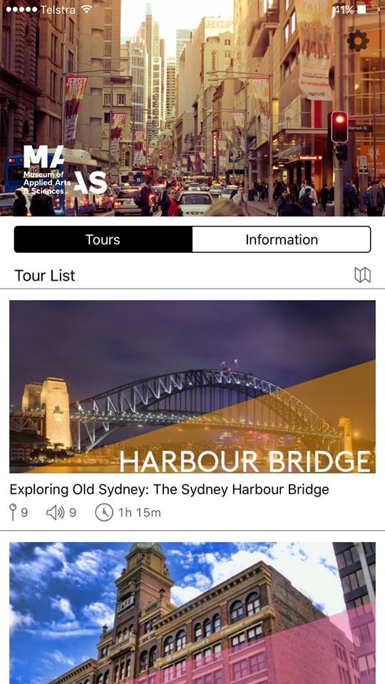 Snapshot of the App