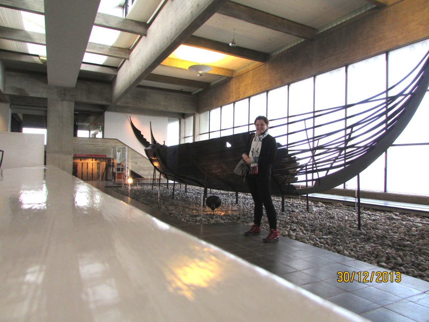 Me and Viking Ship