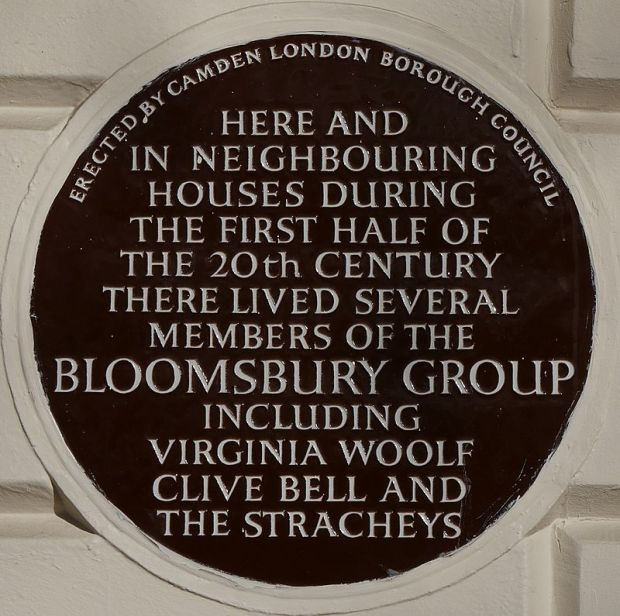 Bloomsbury_Group_51_Gordon_Square_blue_plaque