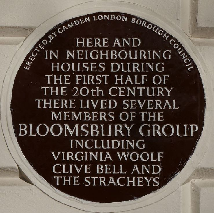 Bloomsbury_Group_51_Gordon_Square_blue_plaque