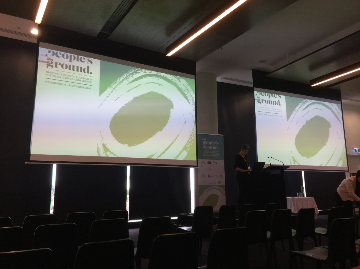 The People's Ground ICOMOS/National TrustsConference