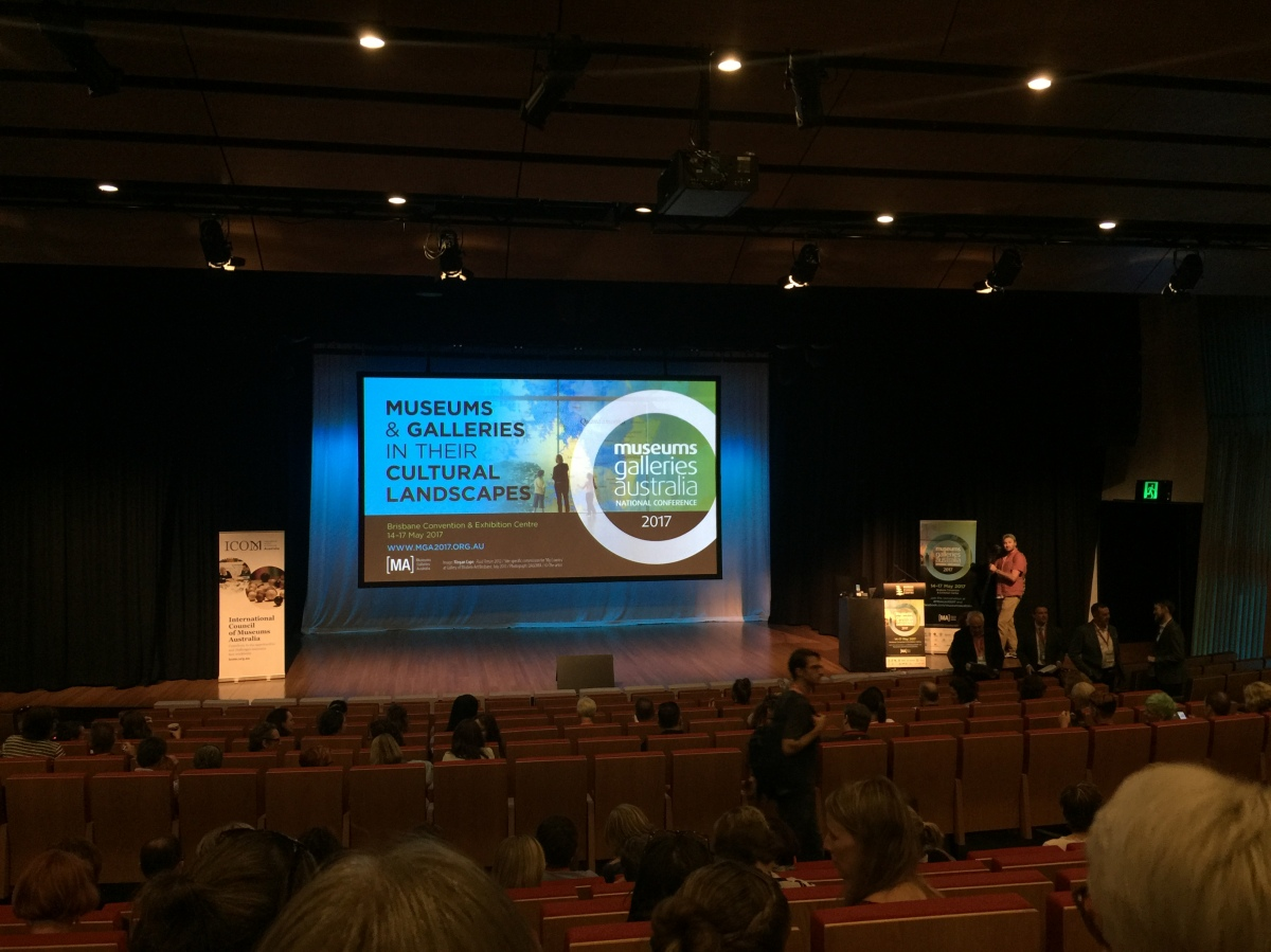 Museums Galleries Australia National Conference: Day1