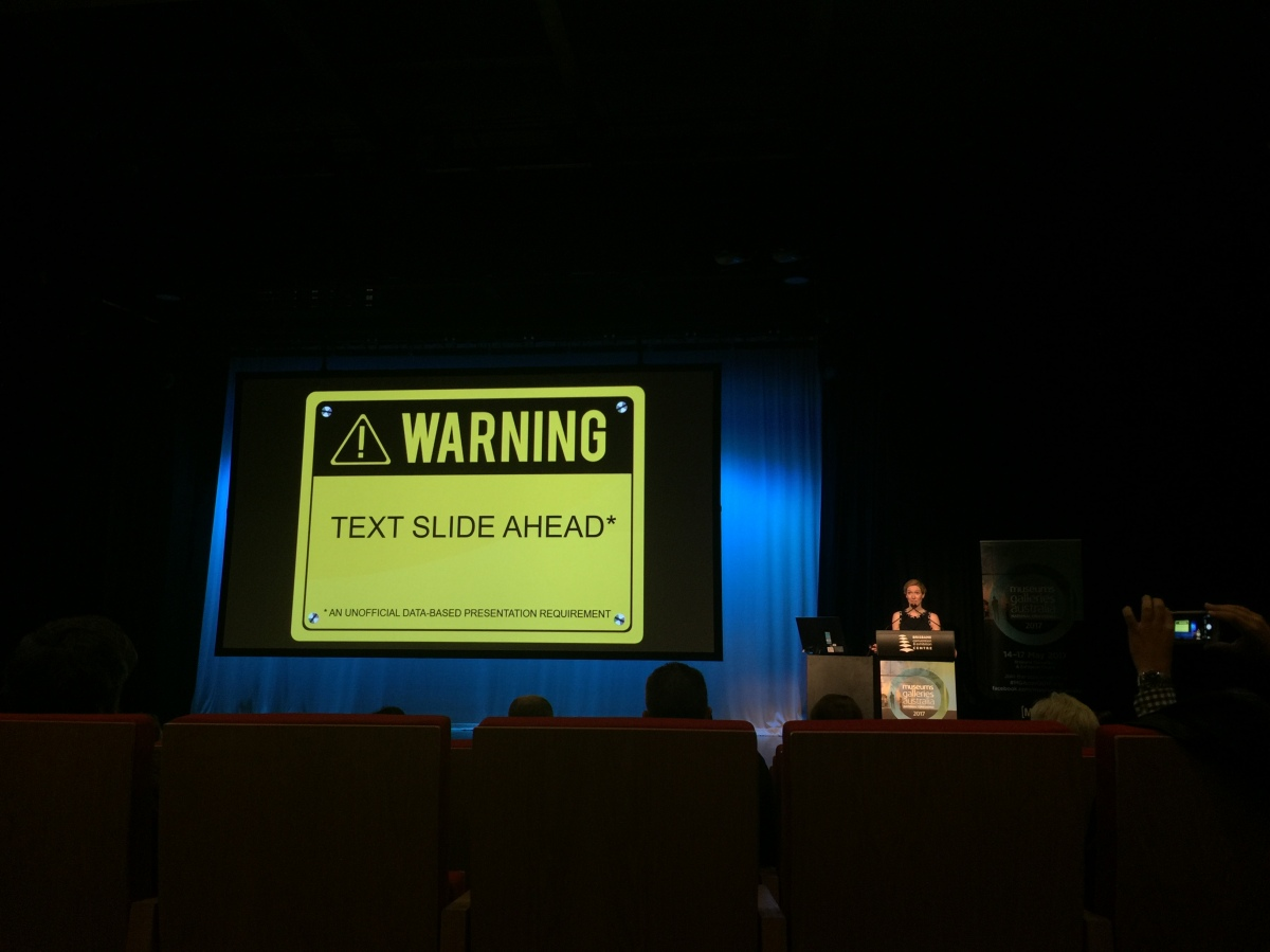 Museums Galleries Australia National Conference: Day3