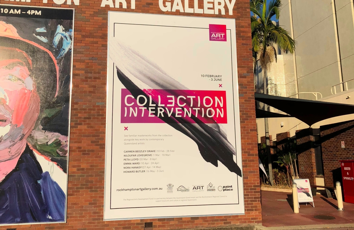 Rockhampton Art Gallery: Collection Intervention (Exhibition Launch)