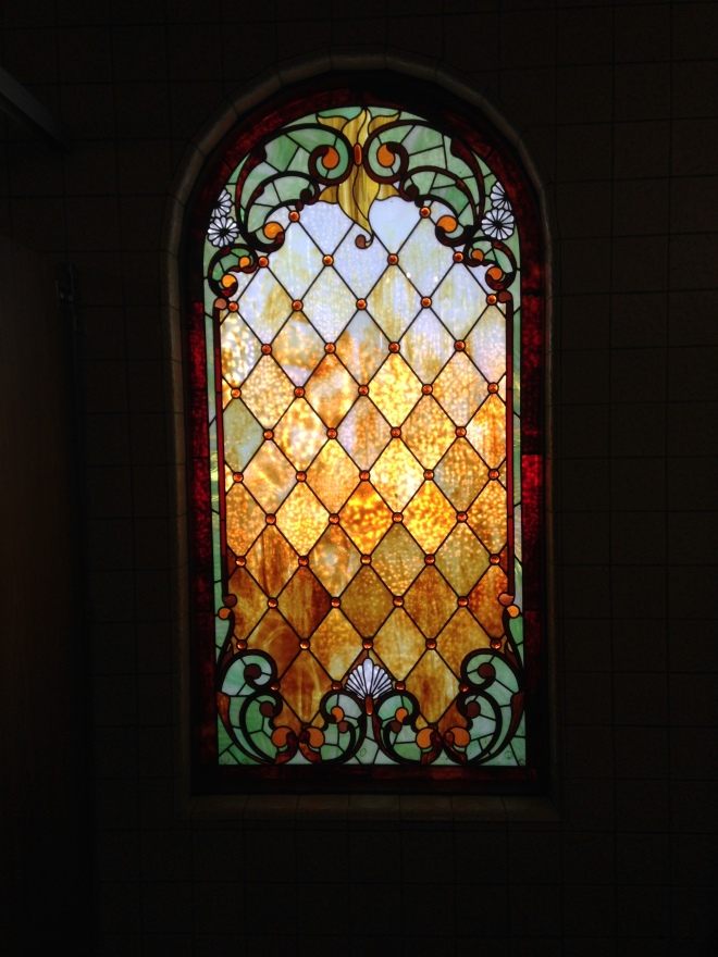 Tiffany Window in Winchester Mystery House
