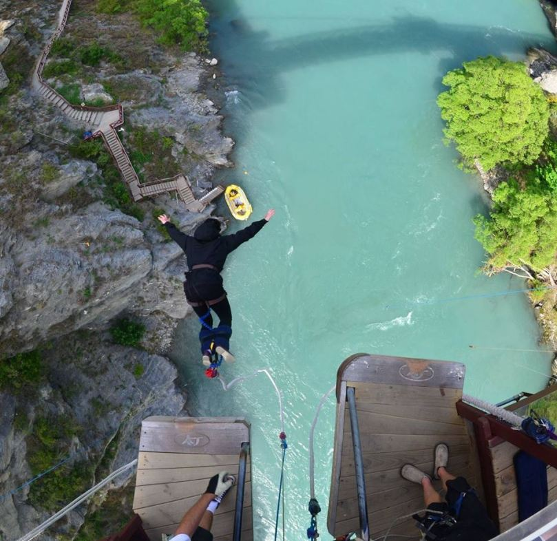 Bungee Jumping A J Hacketts