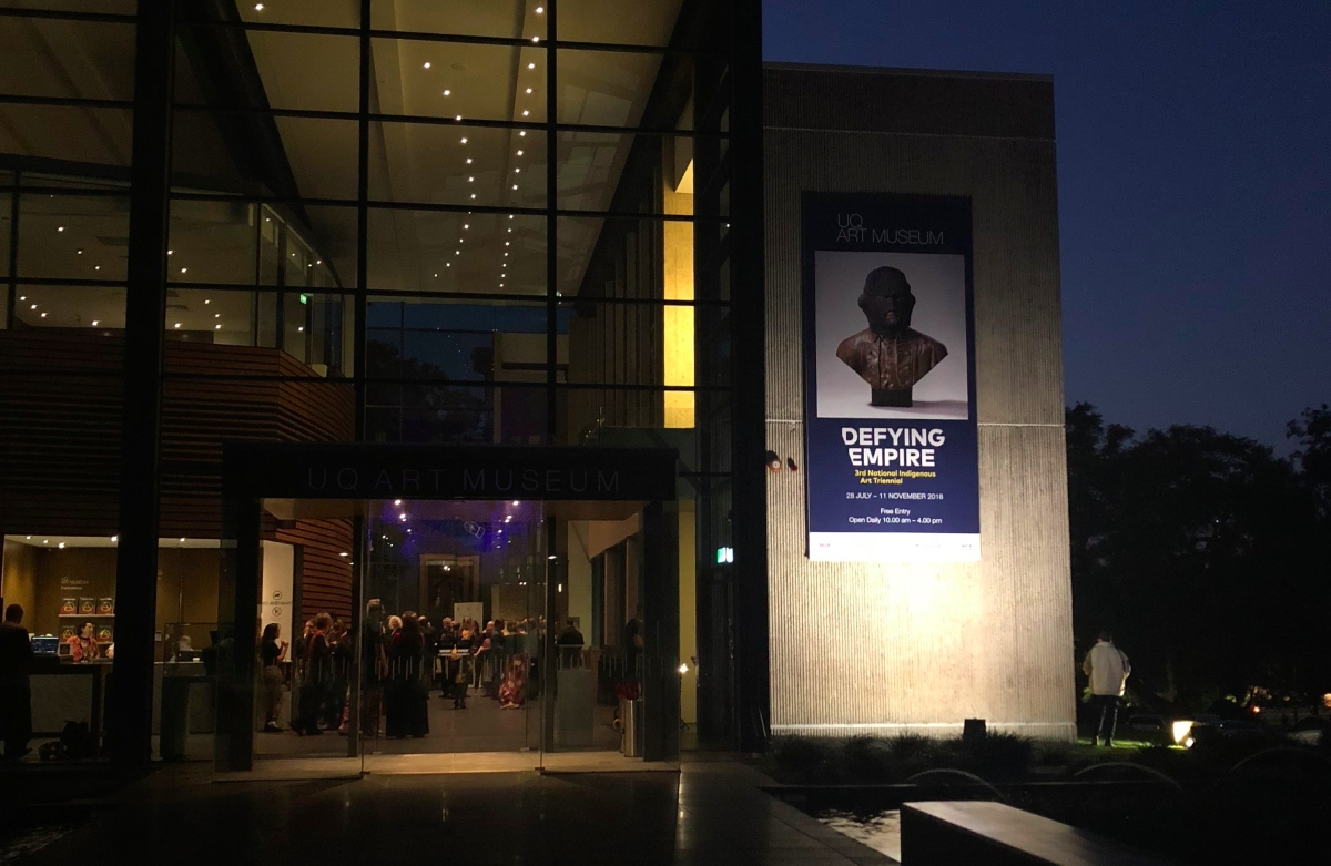 UQ Art Museum: DefyingEmpire