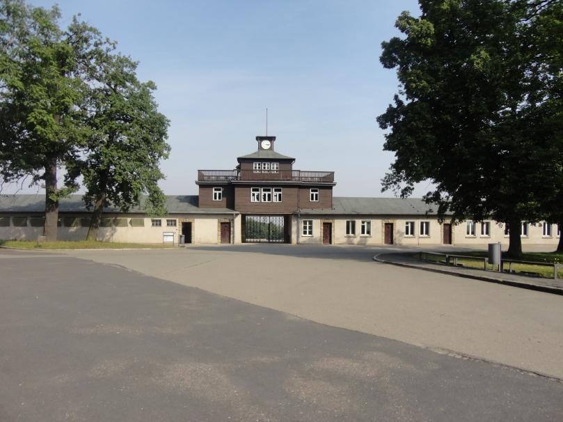 Entrance Gate to Inmates prison