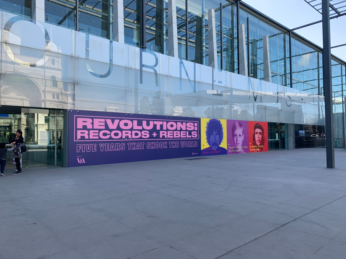 Melbourne Museum: Gut Feelings & Revolutions Records and Rebels